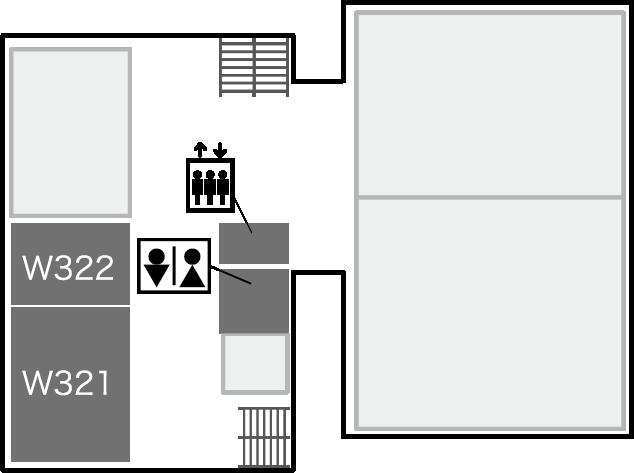 西2,3号館2階
