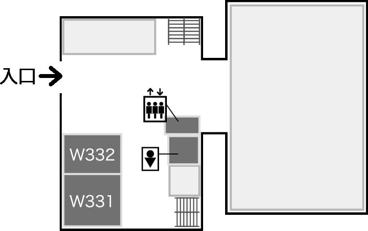 西2,3号館3階