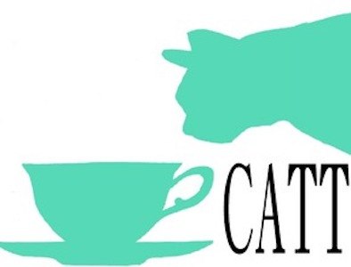 Cat And Tea Time