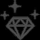 ダイヤモンドと親しむ